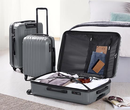 Sert plastik bavul, büyük