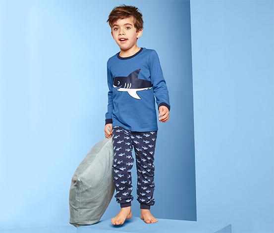 Dziecięca piżama z nadrukami w morskim stylu