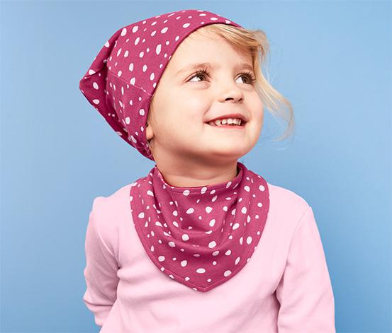 Čepice a šátek na krk