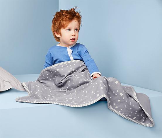 Detská džersejová deka