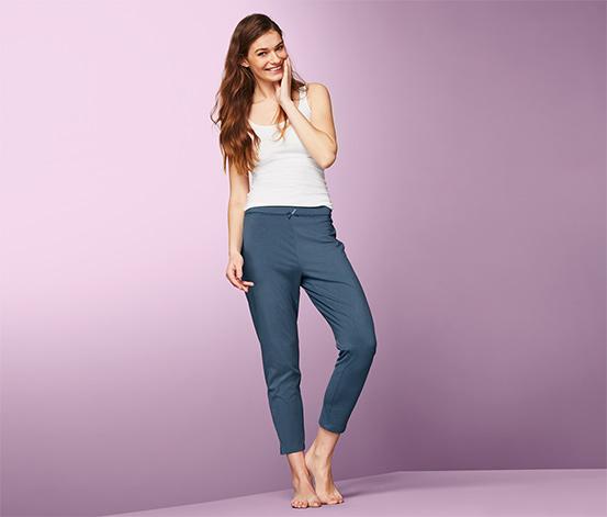 Elastyczne spodnie rekreacyjne z bawełną ekologiczną