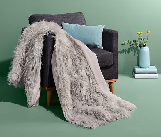Tæppe i kunstpels