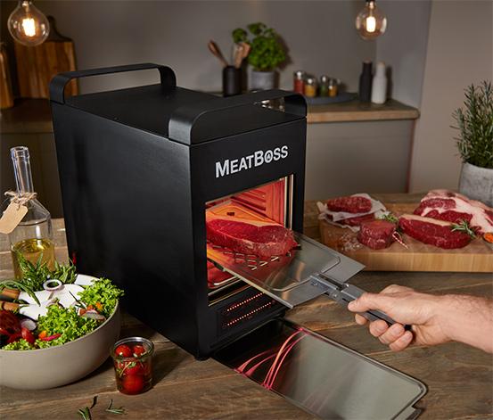 MeatBoss magas hőmérsékletű grill
