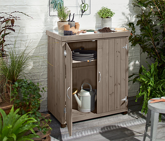 Petite armoire de jardin