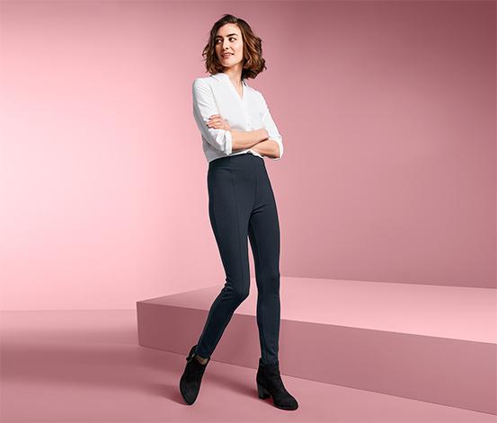 Spodnie modelujące sylwetkę z podwyższonym stanem