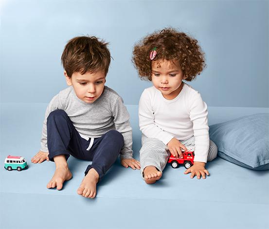 Bawełniane spodnie niemowlęce, 2 pary