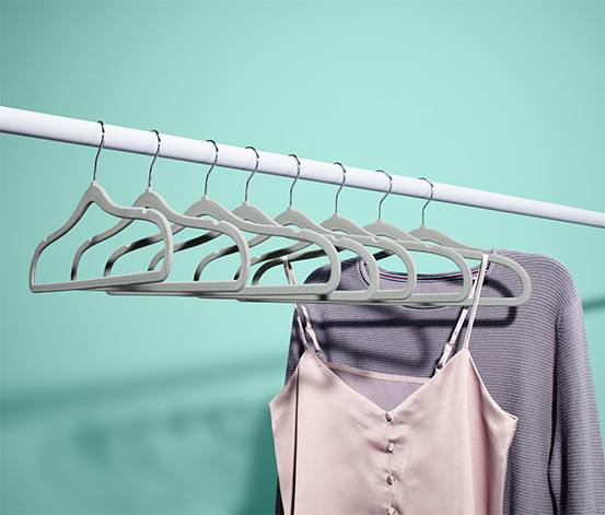 Extra úzká ramínka na šaty, 8 ks