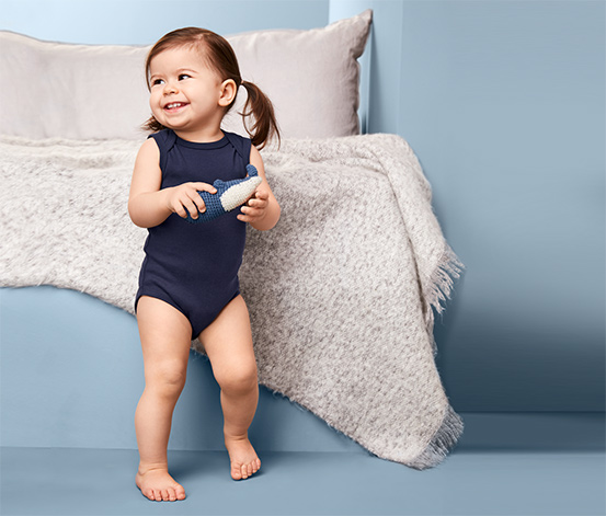Body niemowlęce bez rękawów zapinane na zatrzaski, 5 sztuk