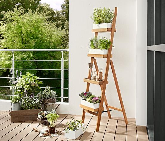 Žebřík na rostliny