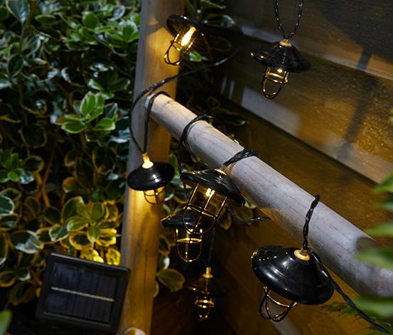 Solárna svetelná reťaz »Lampióny«