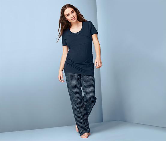 Tehotenské pyžamo a pyžamo na dojčenie