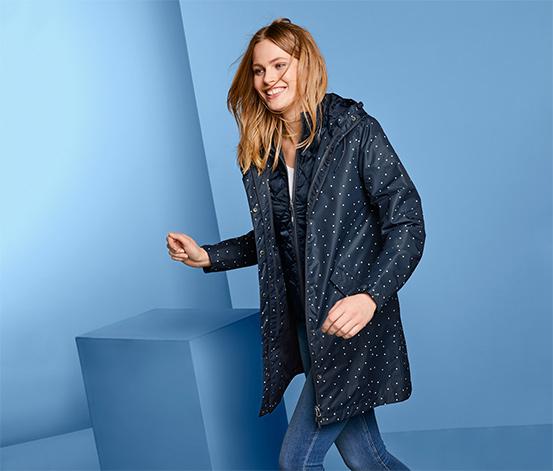 Kabát do dažďa 3 v 1