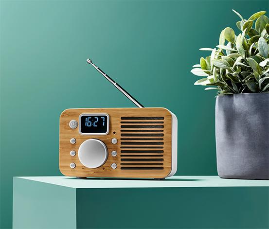 Kompaktní rádio Bambus