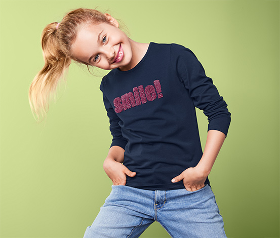 Organik Pamuklu Uzun Kollu Tişört