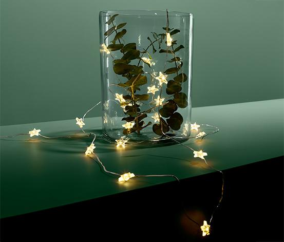 LED-Micro-Lichterkette »Sterne«