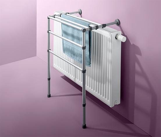 Étagère télescopique pour radiateur
