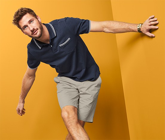 Organik Pamuklu Jersey Polo Tişört