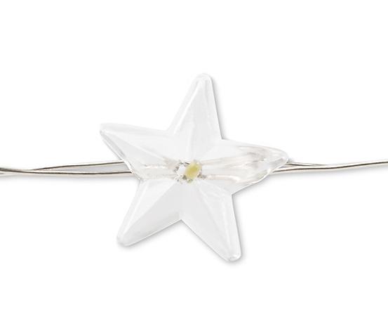 Světelný řetěz s microLED, hvězdičky