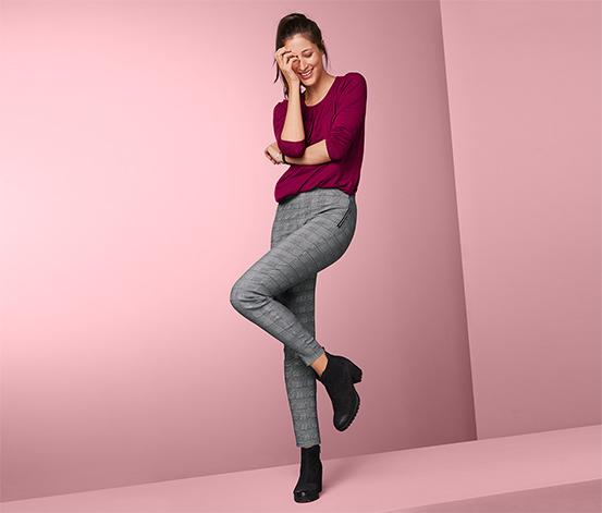 Strečové kalhoty v délce po kotníky