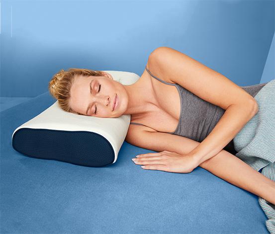 Gelový polštář pro oporu krční páteře irisette®