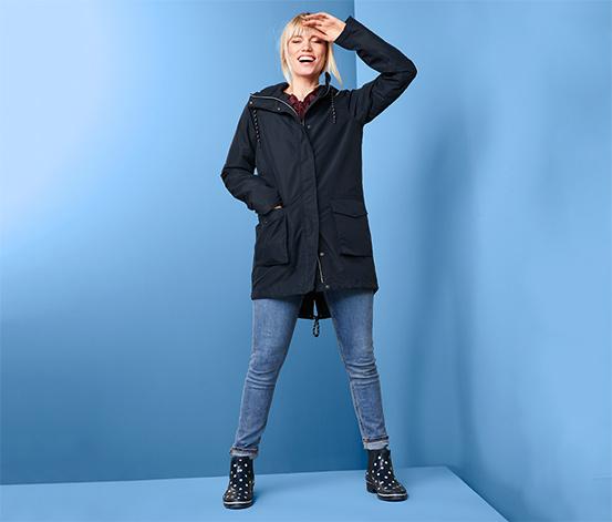 Płaszcz przeciwdeszczowy 3 w 1 z kurtką pikowaną