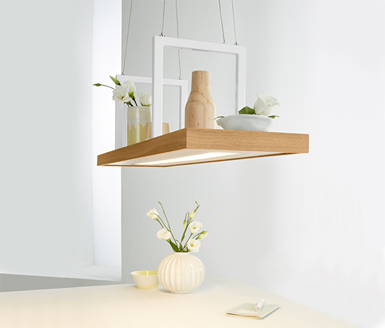 LED-Pendelleuchten-Dekotablett