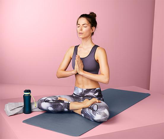 Podložka na jogu a cvičenie