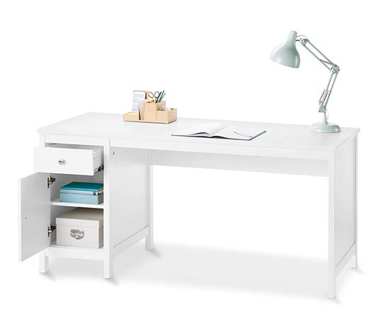 Íróasztal tárolóval