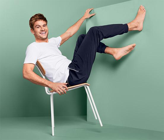 Męskie bawełniane spodnie rekreacyjne