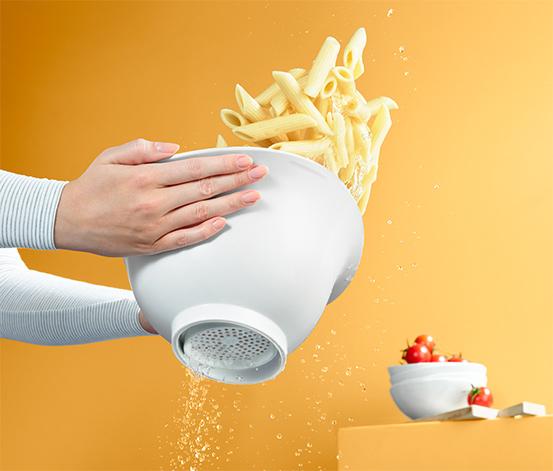 Miska kuchenna z funkcją sitka