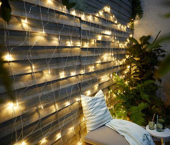 LED-ljusnät för utomhusbruk