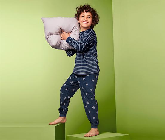 Organik Pamuklu Kadife Pijama Takımı