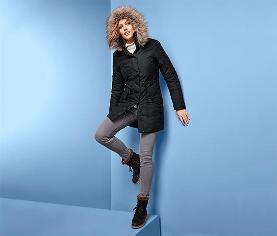 Nieprzemakalny i wiatroszczelny płaszcz damski