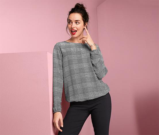 Elastyczna bluzka damska