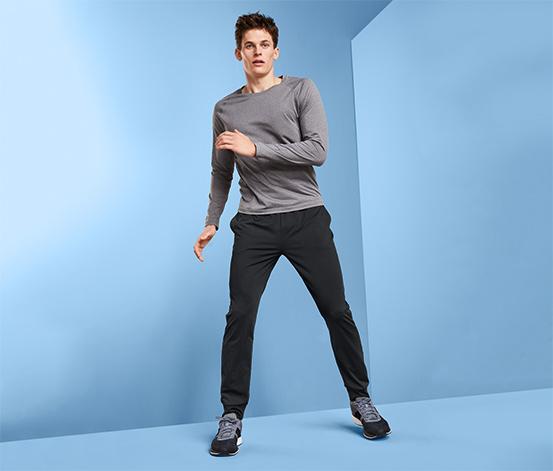 Ciepłe męskie spodnie funkcyjne