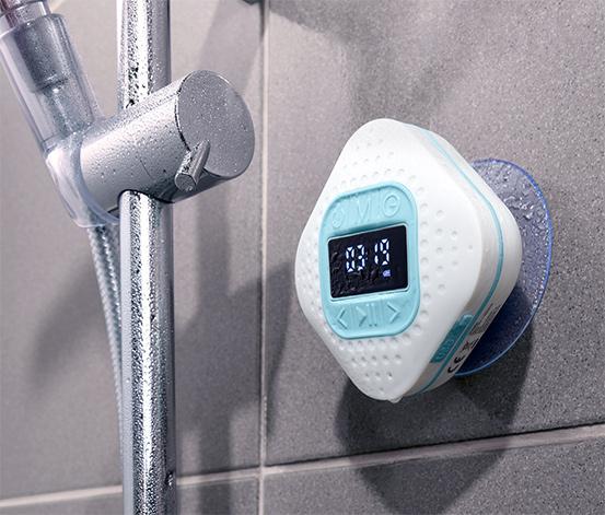 Rádio do sprchy s technologií Bluetooth®