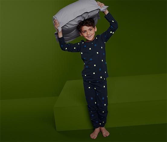 Gyerek pizsama, sötétben világító