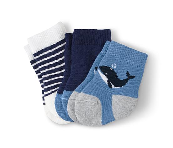 Organik Pamuklu Bebek Çorabı