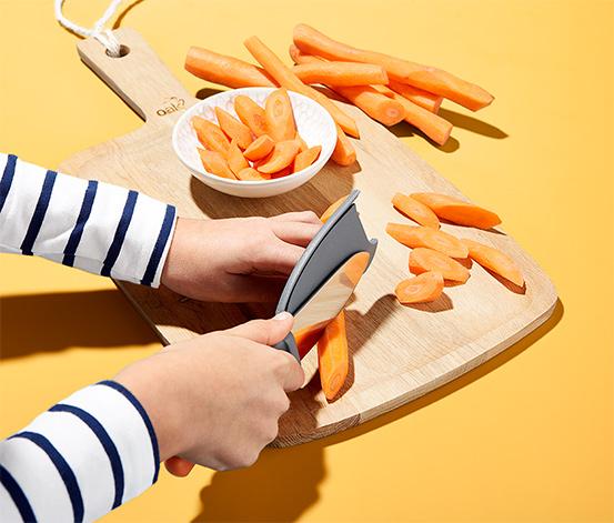 Séfkés gyerekeknek, ujjvédővel