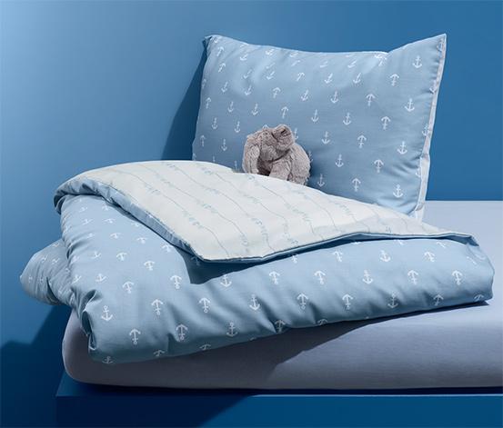 Kétoldalas kisgyerek ágynemű
