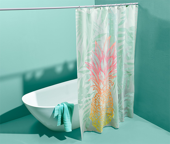 Zuhanyfüggöny, ananász