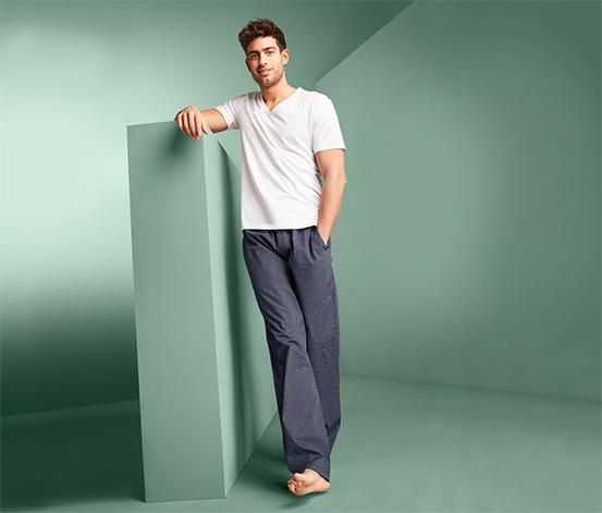 Tkané pohodlné nohavice
