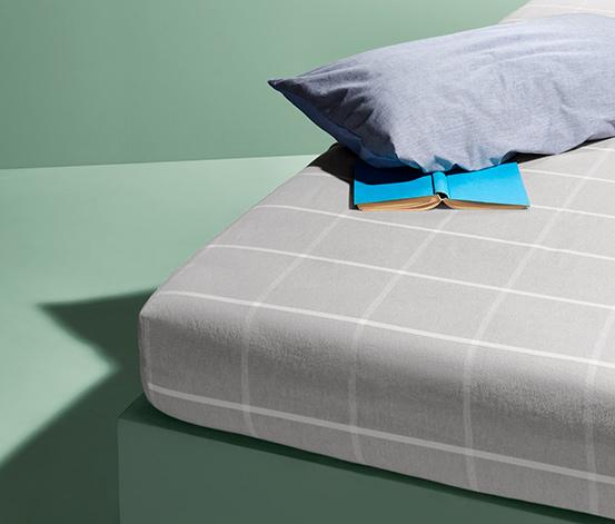 Flonelfaconlagen, til madrasser fra 90 x 190 op til 100 x 200 cm