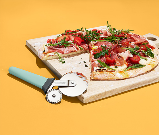 Krájač na pizzu a cestoviny 2 v 1