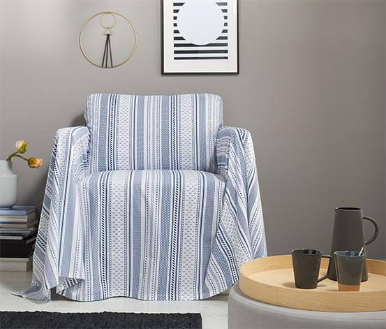 Multifunkcionális takaró, mintás, 230x250 cm