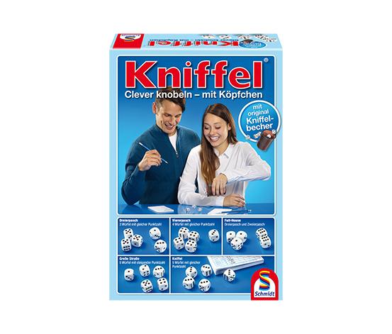 Schmidt Spiele Classic Line – Kniffel®, mit großem Spielblock