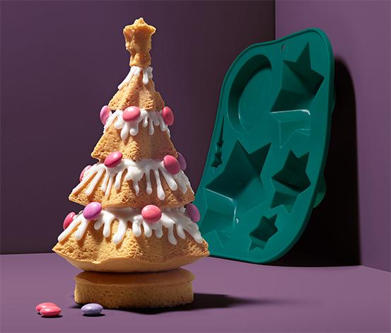 Silikon Pişirme Kalıbı ,Noel ağacı