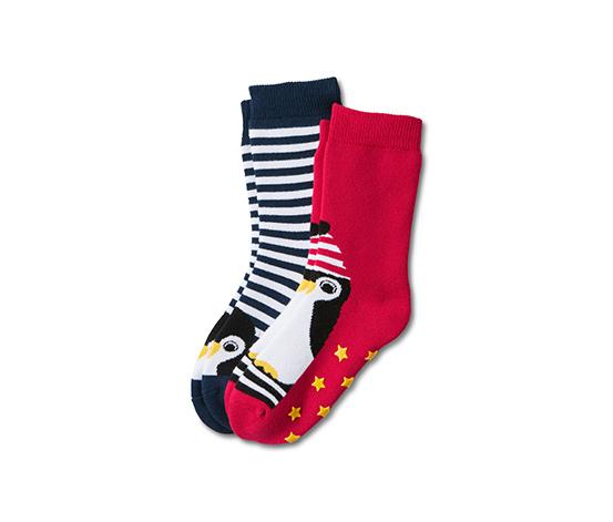 Protiskluzové ponožky, 2 páry