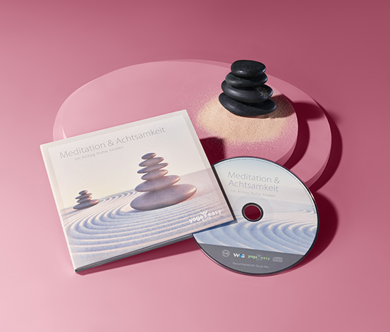 CD »Meditation und Achtsamkeit – im Alltag Ruhe finden«