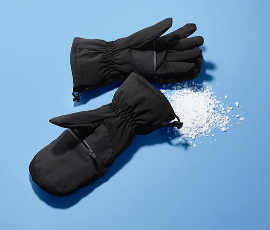 Profesjonalne rękawice narciarskie 2 w 1
